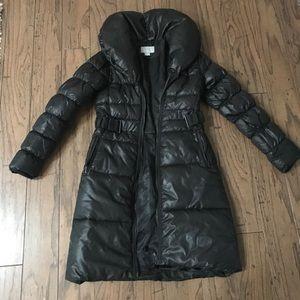 Black H&M winter coat